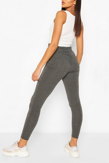 Dark grey grey Tall Booty Boost High Waist Leggings