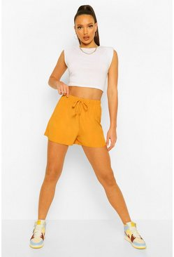 Mustard yellow Tall Running Shorts