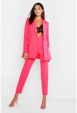 Neon-pink pink Tall Neon Tailored Trouser