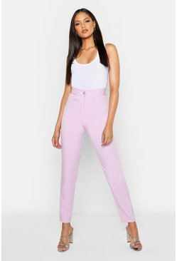 Lilac purple Tall Tailored Pants