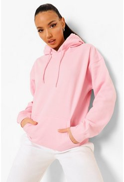 Light pink pink Tall Oversized Hoody
