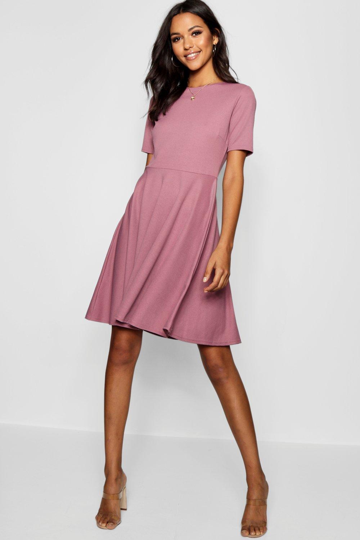 Womens Sale Tall  Short Sleeve Skater Dress