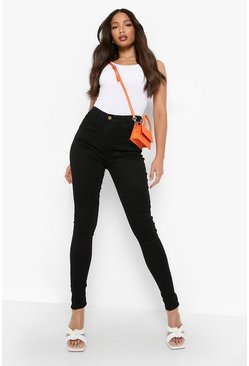 Jeans Skinny stretch 5 poches Tall, Noir