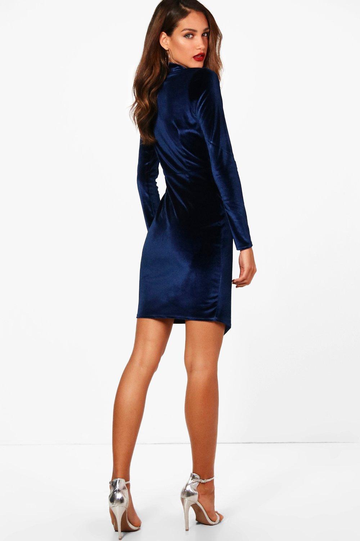 Tall Holly Velvet Blazer Dress Boohoo Uk