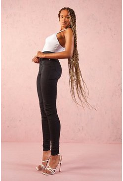 Tall Basic Black Denim Jeggings