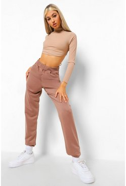 Chocolate brun Brown Tall Basic Joggers