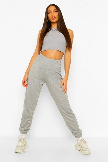 Grey Tall Running Joggers
