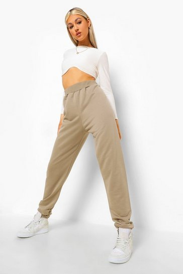 Khaki Green Tall Basic Joggers