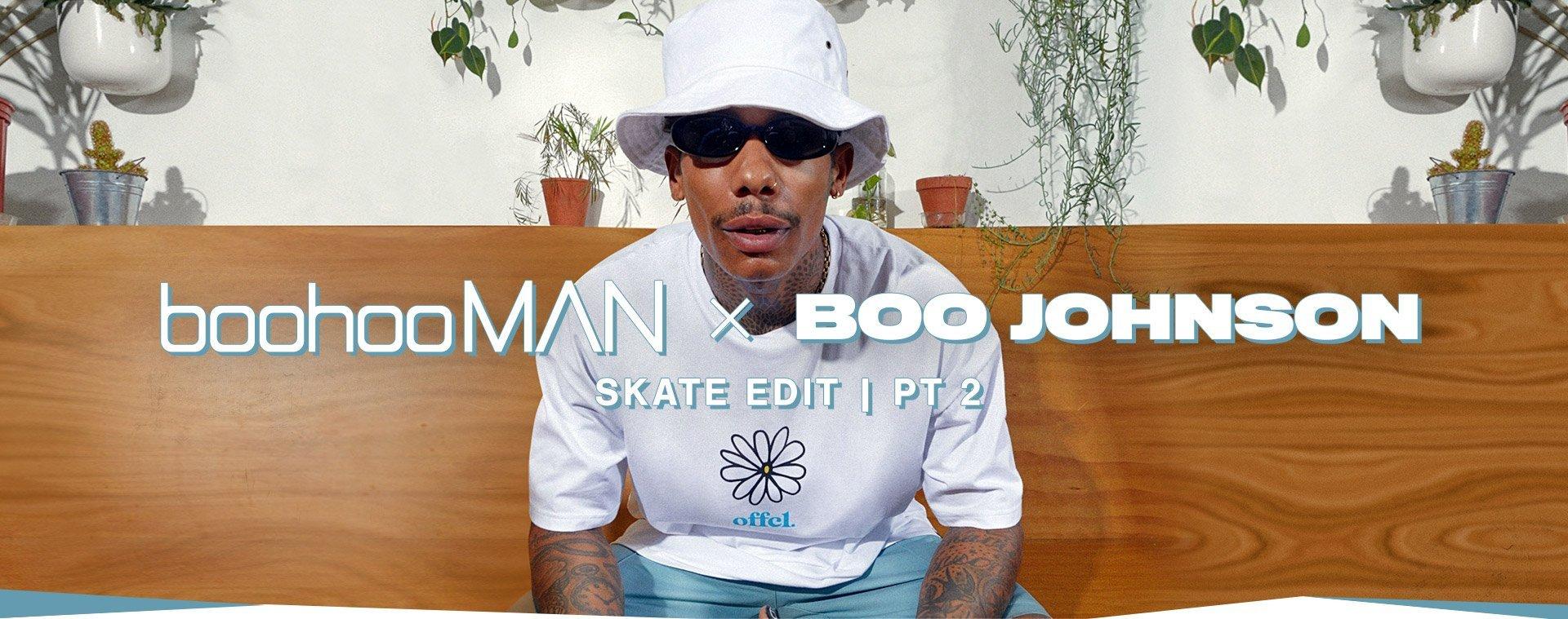 boohooMAN x Boo Johnson Skate-Kollektion Teil 2