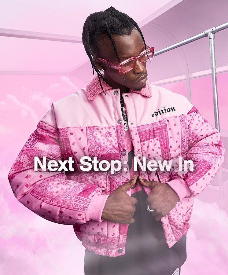 Shop Men's New in