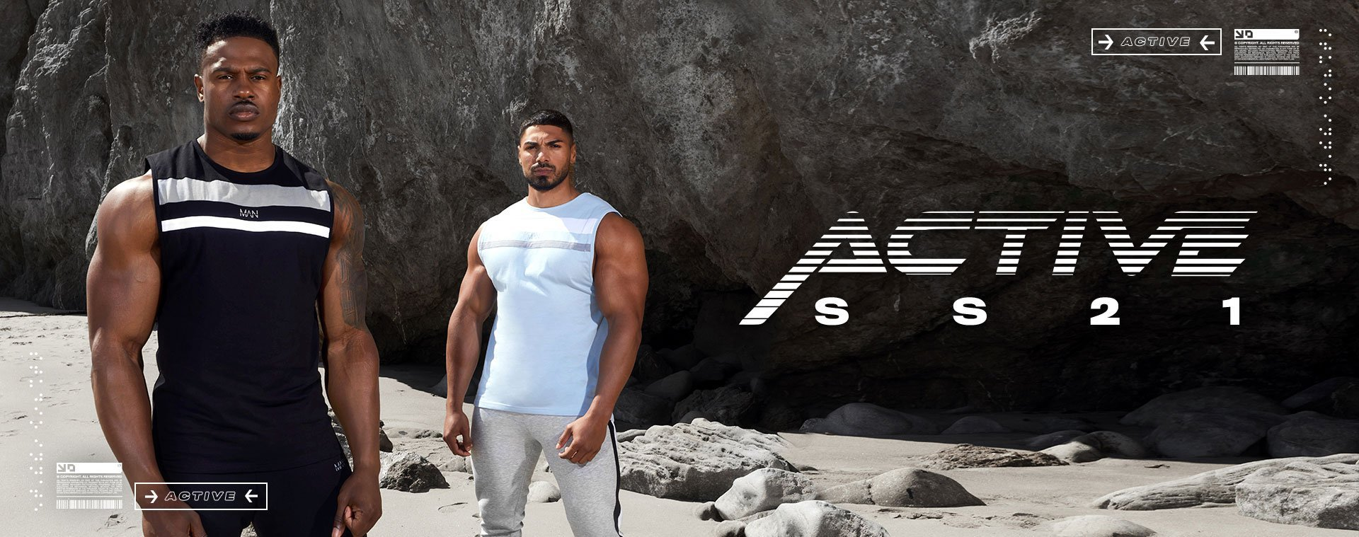 Men's Active SS21 Collection
