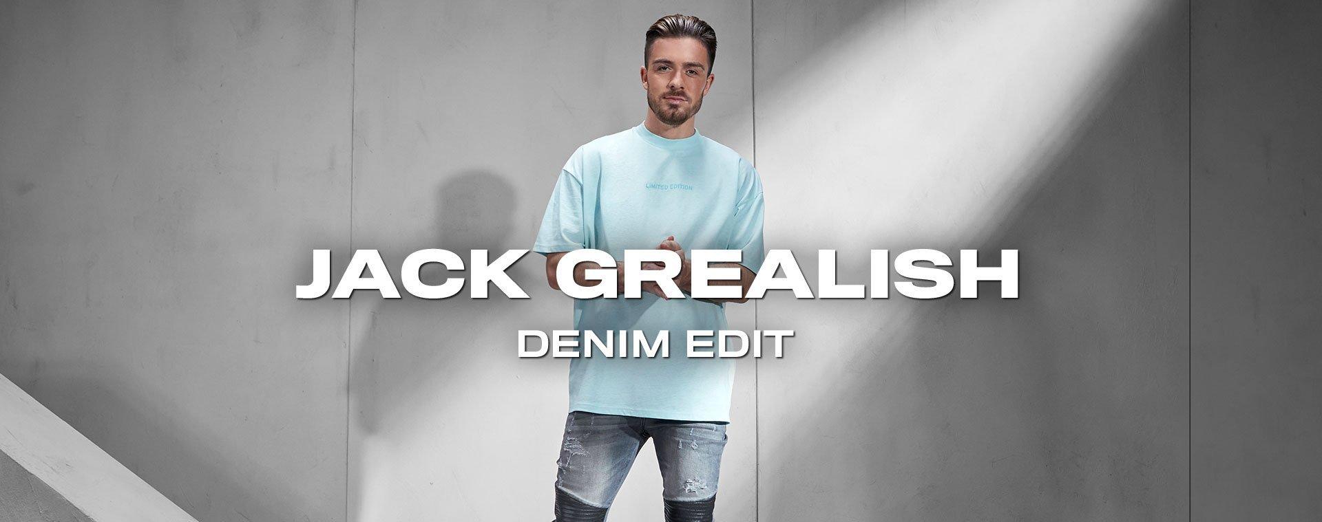 Jack Grealish x Denim Edit Kollektion