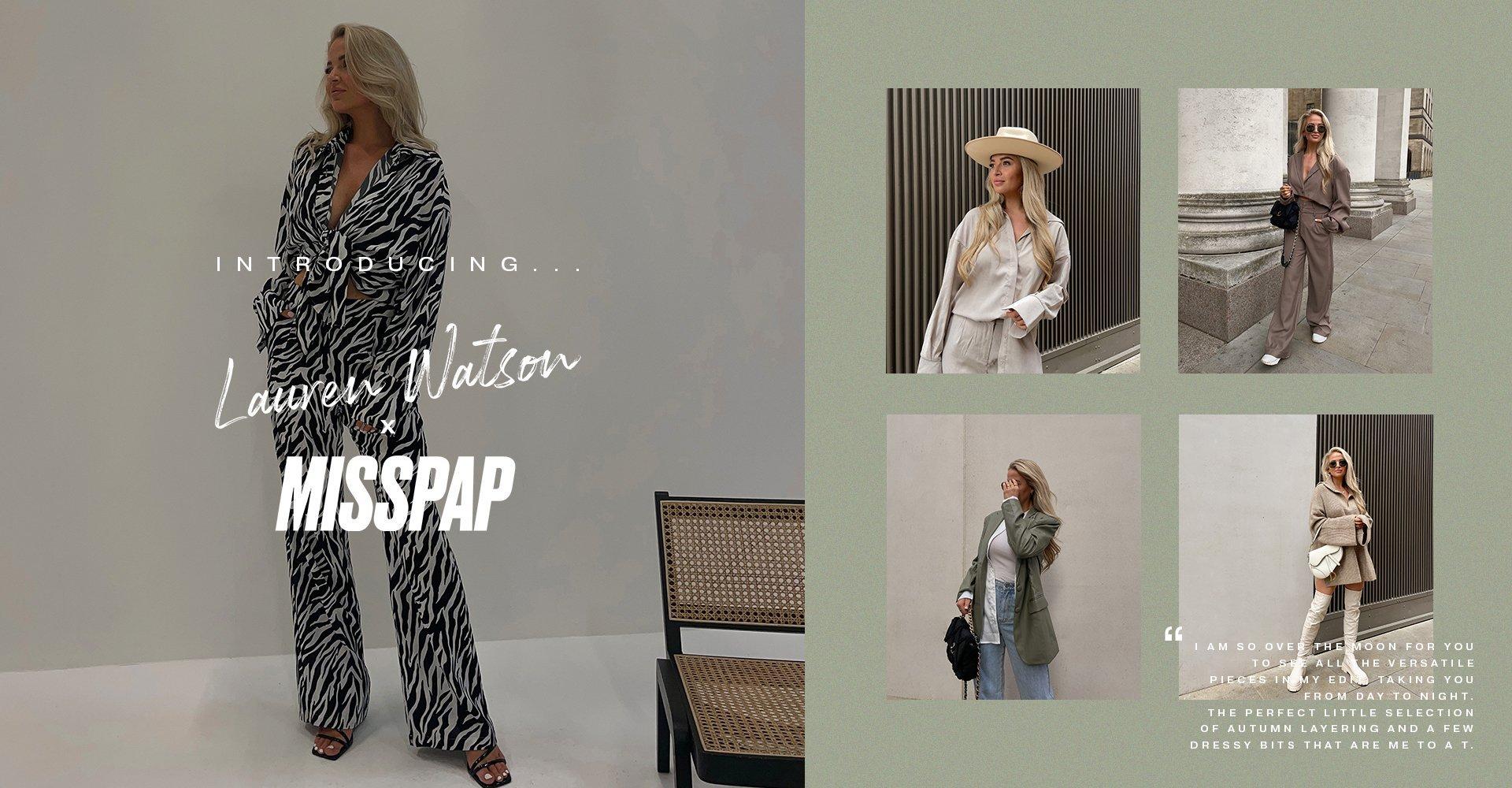 Lauren Watson x Misspap