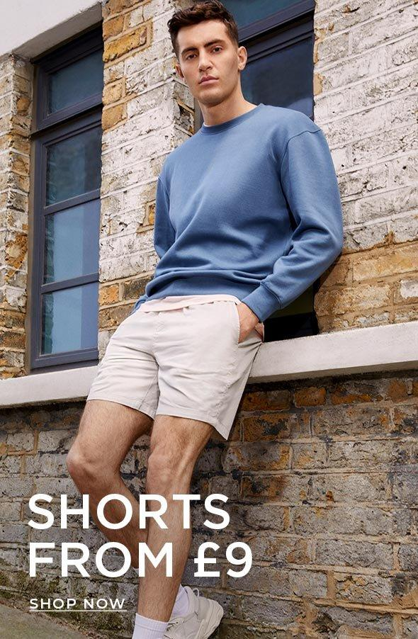 SHORTS FROM £9