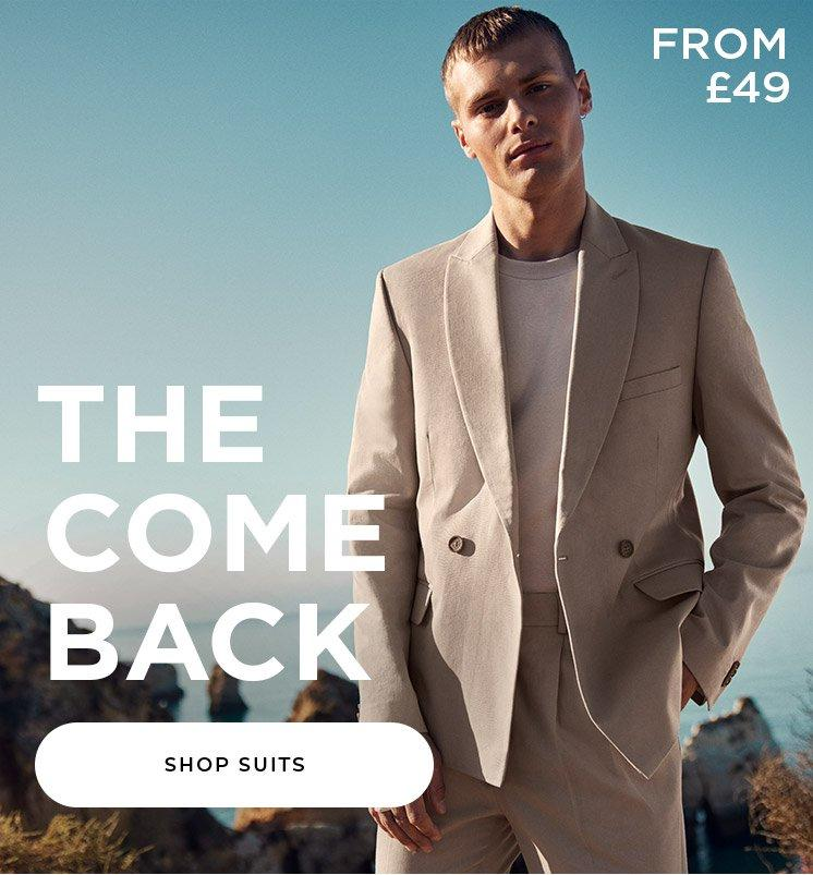 Shop Suits From £49