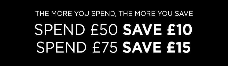 The more you Spend, The more you Save