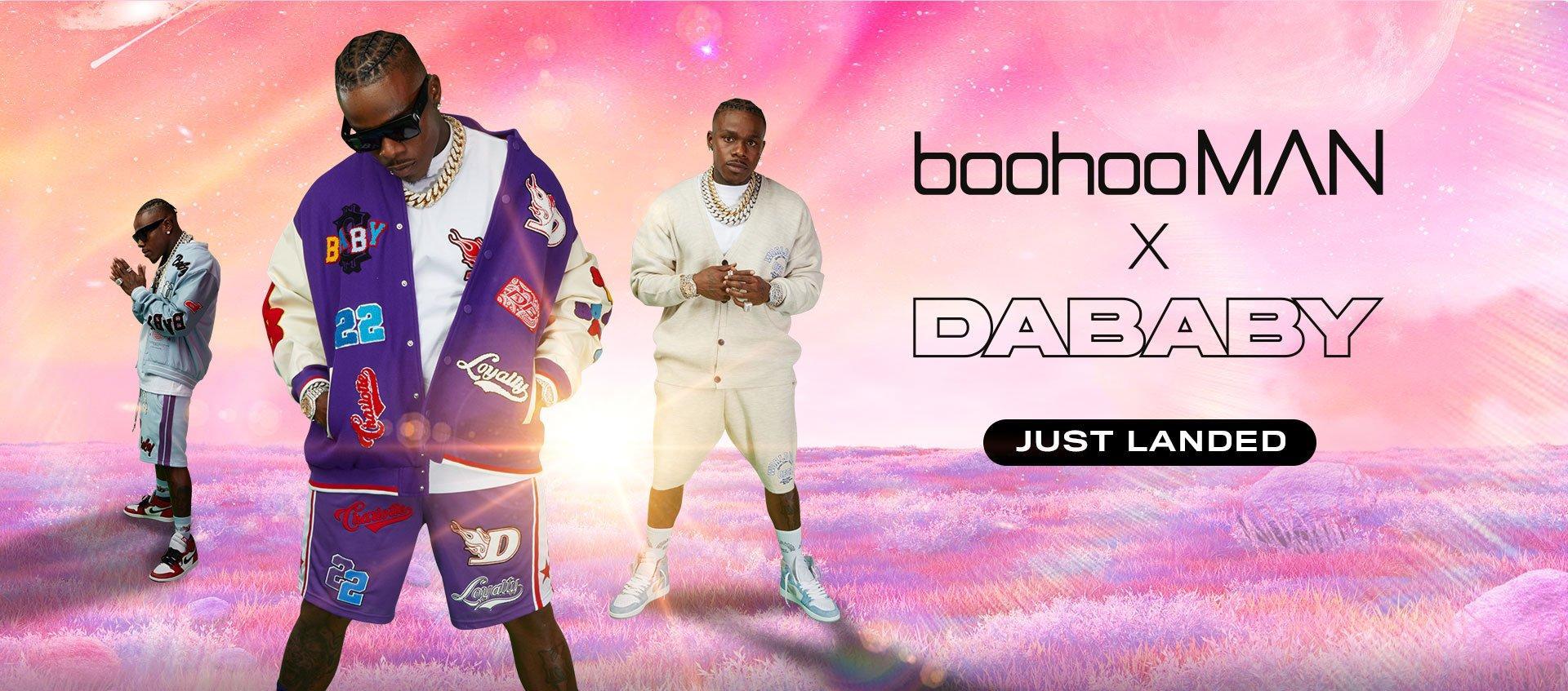 boohooMAN X DaBaby - Just Landed