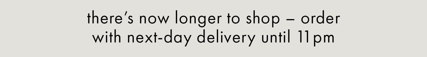 Latest delivery update