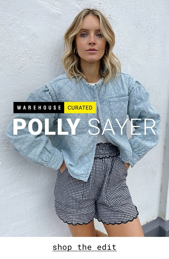 Polly Sayer x Warehouse Curated