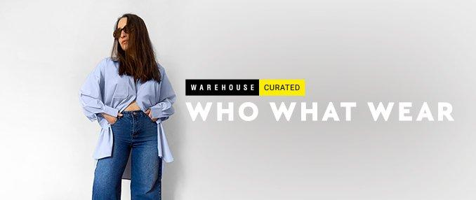 Who What Wear x Warehouse Curated