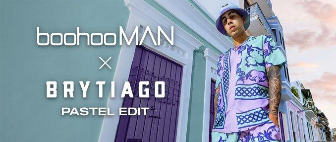 Collection boohooMAN x Brytiago Édition Pastel